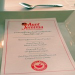 Aunt Jemima Breakfast Menu