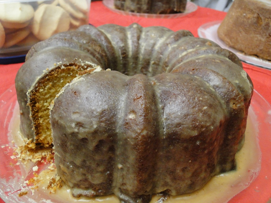 Eggnog Pound Cake by James Knox | The Culinary Scoop
