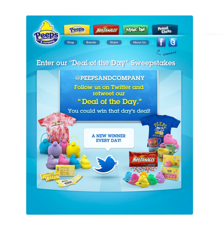 PEEPS &amp; COMPANY DEAL OF THE DAY