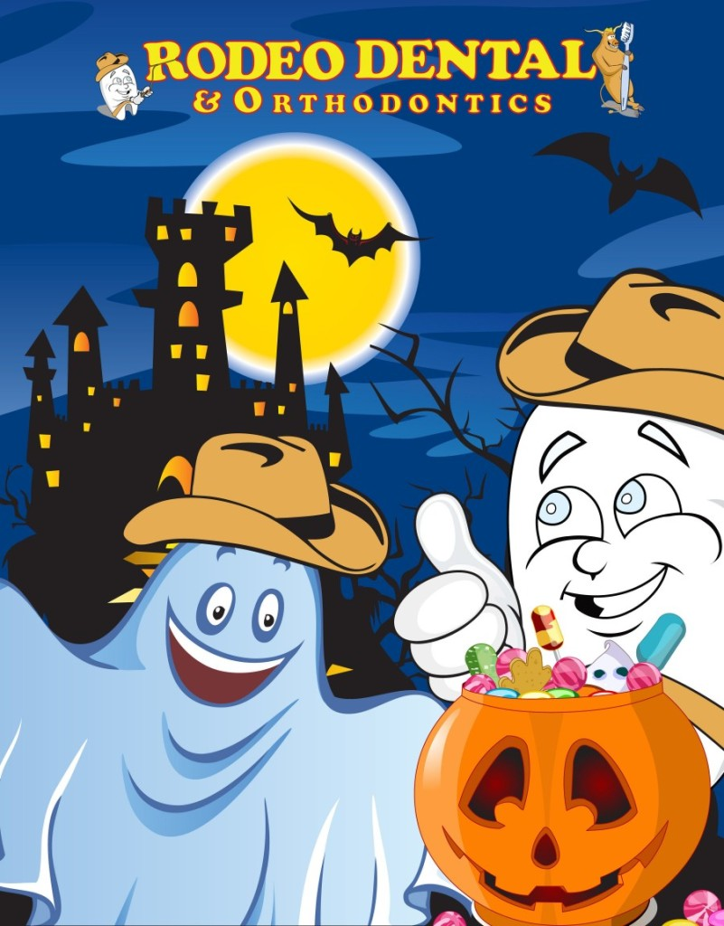 RODEO DENTAL & ORTHODONTICS HALLOWEEN CARD