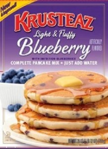 Continental Mills Recalls Blueberry Pancake Mix Because of Possible Health Risk (PRNewsFoto/Continental Mills, Inc.)