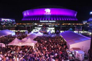 Emeril Lagasse Foundation's annual Boudin, Bourbon & Beer in Champions Square. (PRNewsFoto/Emeril Lagasse Foundation)